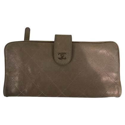 Chanel Portemonnaie aus Wildleder