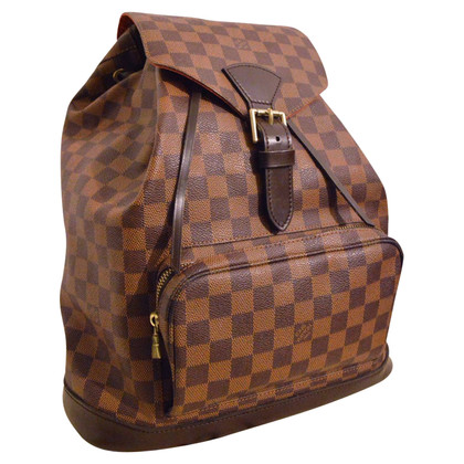 "Louis Vuitton  ""Montsouris GM Damier Ebene Canvas"""
