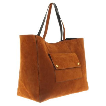 Rika -Cognac gekleurde Shopper