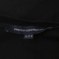 French Connection Kleid in Schwarz/Rot