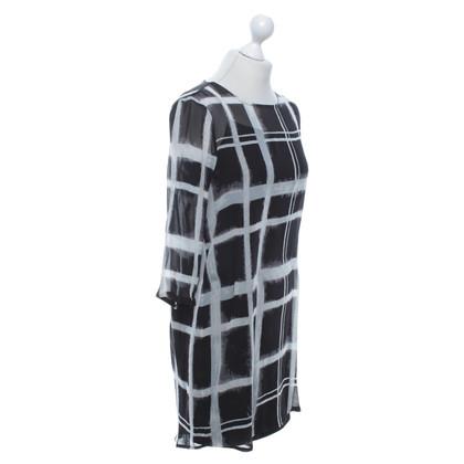 Rich & Royal Kleid in Schwarz/Weiß