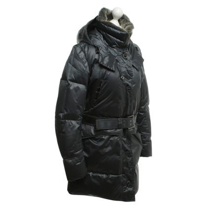 Woolrich Down jas in donkerblauw