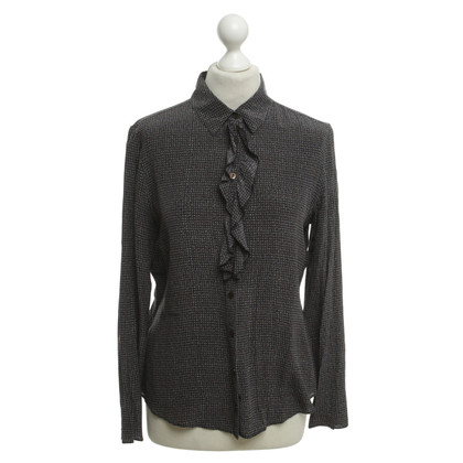 Moschino Seidenbluse mit Muster