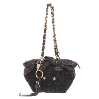 Dolce & Gabbana Purse with lace trim