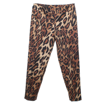 Escada trousers with leopard pattern