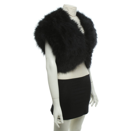 Hobbs Vest made of feathers