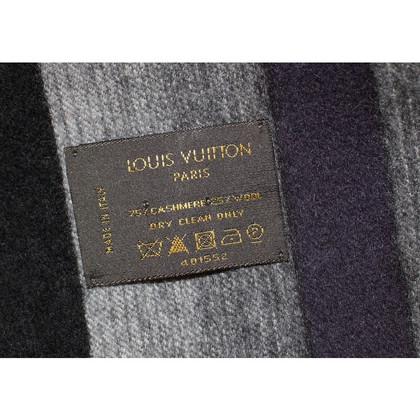 Louis Vuitton Cashmere sciarpa grigio nero