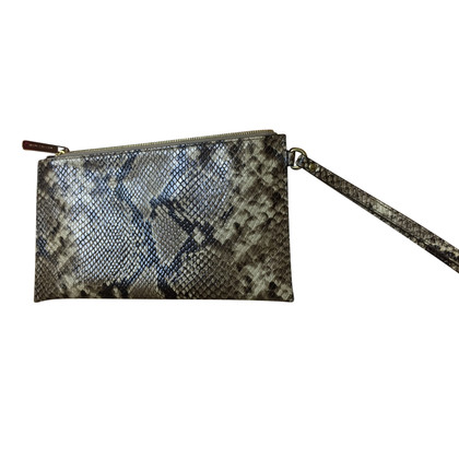 Michael Kors clutch met animal print