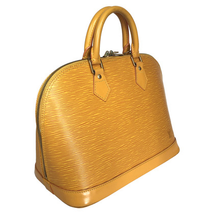 "Louis Vuitton ""Alma PM EPI' in yellow"