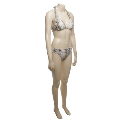 Heidi Klein witte bruine bikini L