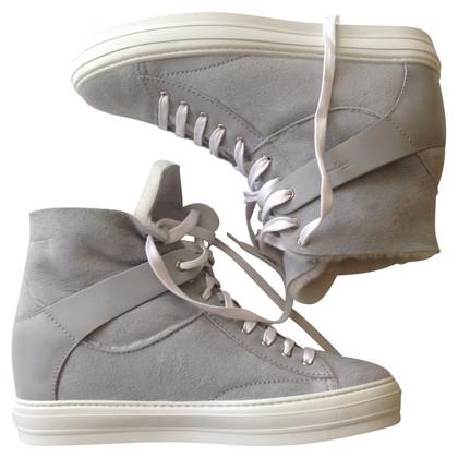 Salvatore Ferragamo Sheepskin Sneakers