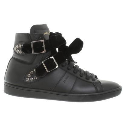 Saint Laurent Sneaker in Black