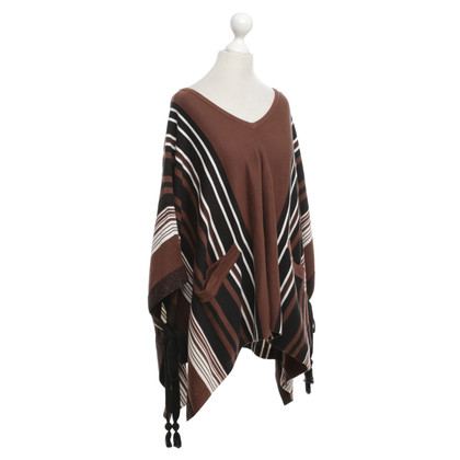 Claudie Pierlot Poncho in marrone