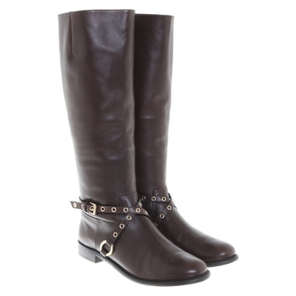 Diane von Furstenberg Leather boots