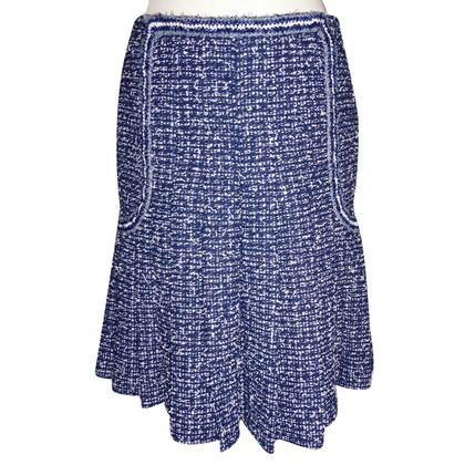 Chanel Bouclé skirt with pleats