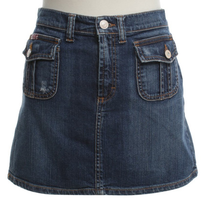 D&G Jean Rock in medium blauw