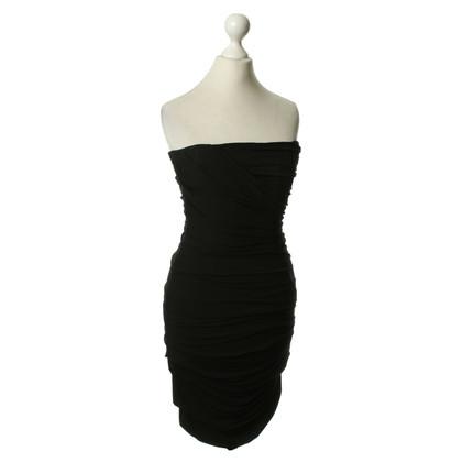 Dolce & Gabbana Bandeau dress in black
