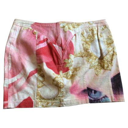 Roberto Cavalli Mini skirt in multicolor