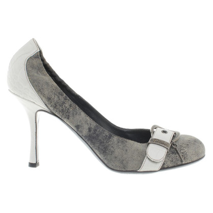 Christian Dior pumps met siergesp