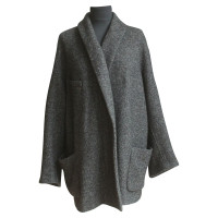 Isabel Marant Etoile Vest van zwarte wol