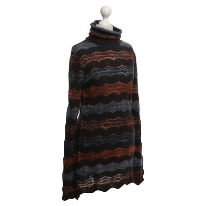 Missoni Turtleneck in strip-look-ferro