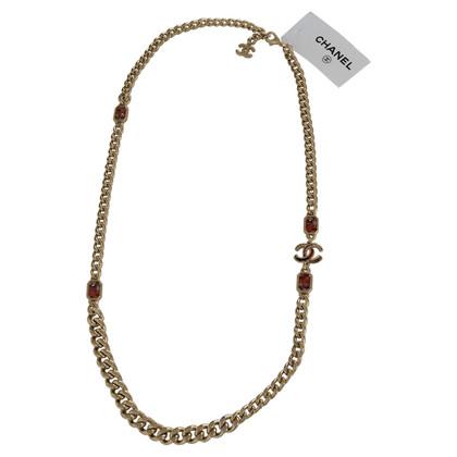 Chanel Halskette mit Schmucksteinen