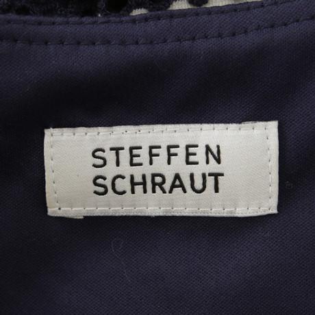 Streifenmuster Blau Schraut Steffen Steffen mit Kleid Schraut aXwRf