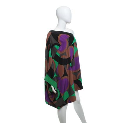 Missoni One-shoulder zijden jurk