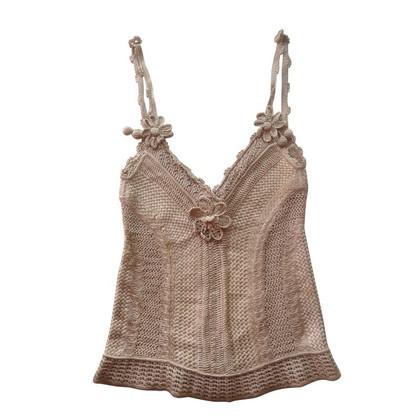 Alexander McQueen Sweet playful knit top