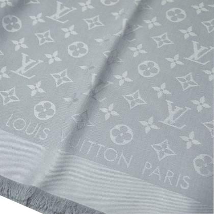 Louis Vuitton panno Monogram in grigio chiaro