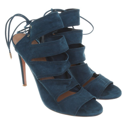 Aquazzura High Heels in Petrol