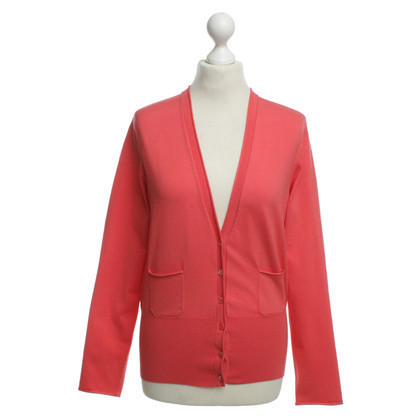 Marc Cain Cardigan in coral red