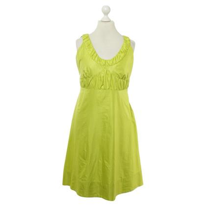 Luisa Cerano Kleid in Apfelgrünfarben