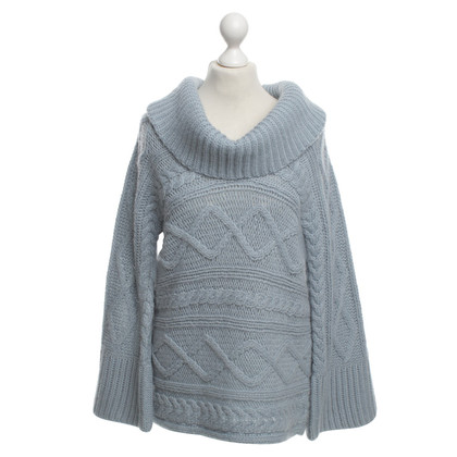Escada Sweater in Light Blue