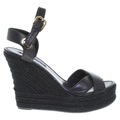 Ralph Lauren Black Label Sandals in black
