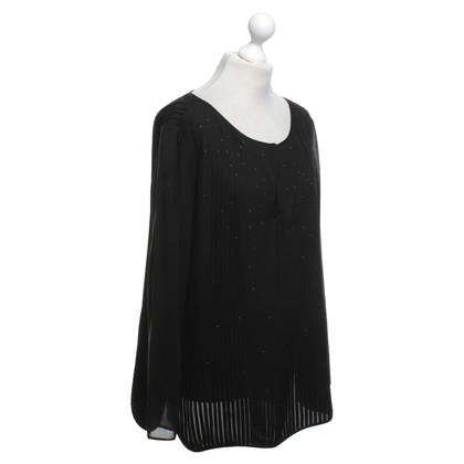 Escada Top in seta in Black