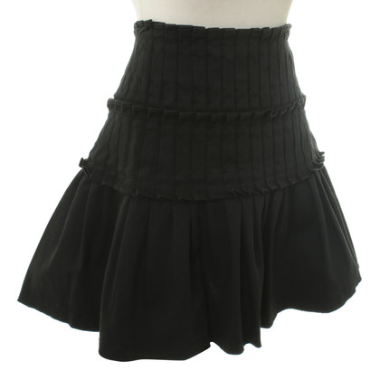 Armani Jeans Pleated skirt in black