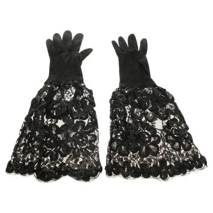 Prada suede Handschoenen