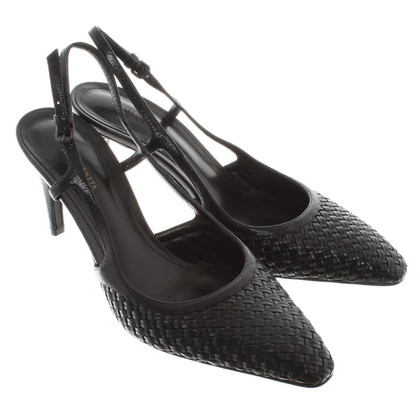 Bottega Veneta Slingback Pumps in Schwarz