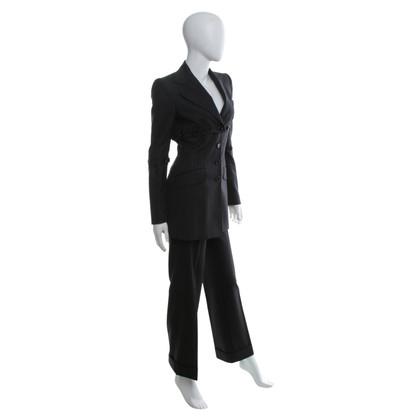 Dolce & Gabbana Krijtstreep pak in zwart