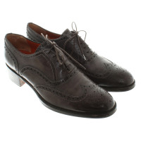 Santoni Lace-up shoes in dark gray