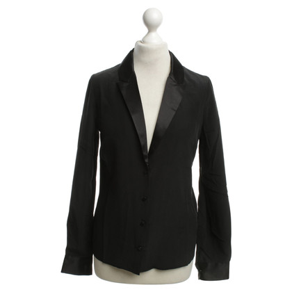 Zadig & Voltaire Silk blouse in blazer look