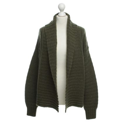 360 Sweater Giacca in cashmere in verde