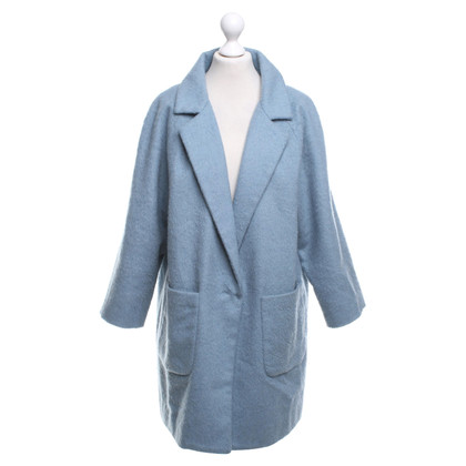 Ganni Coat in light blue