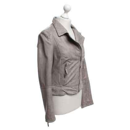 Arma Leatherjacke in grey