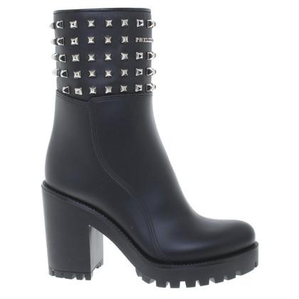 Philipp Plein Boots in Black