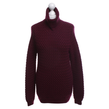 Malo Strickpullover in Weinrot