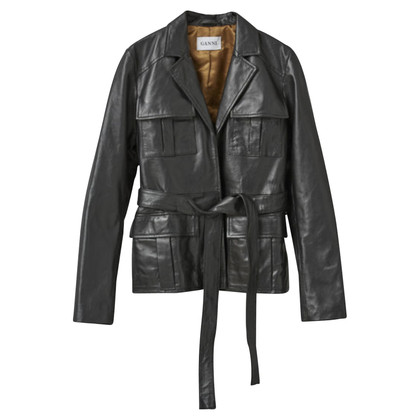 Ganni Leather jacket