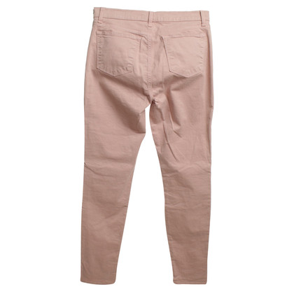 J Brand trousers in blush pink