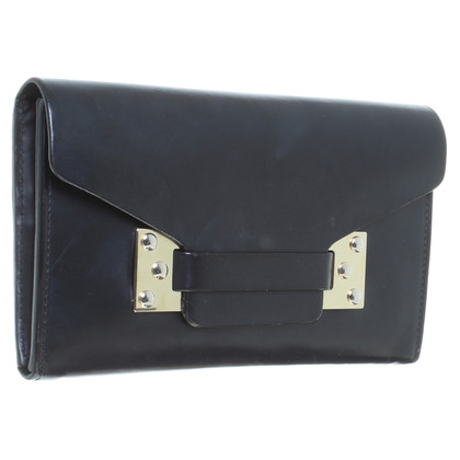 Sophie Hulme Wallet in black